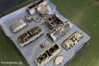 CB400F Engine Gunkote2408 Silver