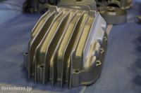 CB400F エンジン ガンコート シルバー 塗装