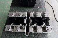 エンジン シリンダーヘッドカバー ウエットブラスト セラコート 塗装