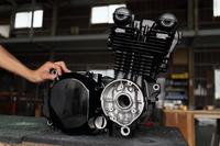 エンジン ウエットブラスト セラコート カバー パウダーコート 塗装