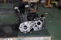 Kawasaki エンジン Z1 セラコート アーマーブラック ウェットブラスト サンドブラスト カワサキ